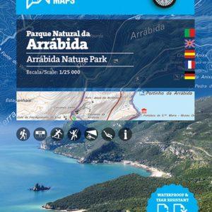 Mapa Natural Parque da Arrabida