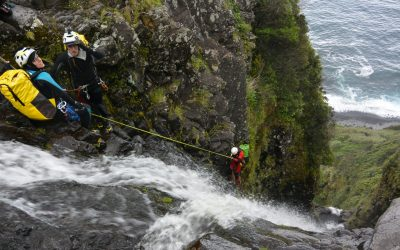Curso Canyoning Açores Nível I – Iniciação