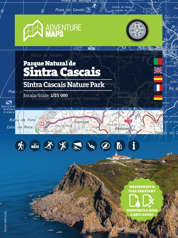 Mapa Sintra Cascais